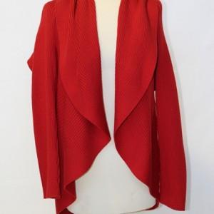 MGW1601 Ladies Circular Collar Jacket Red