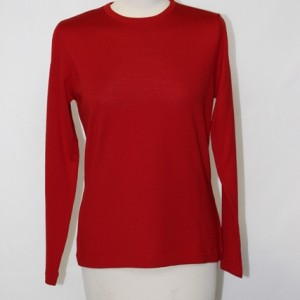 MGW8330C Ladies Shaped Crew  Red