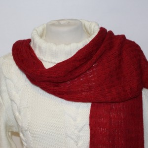 MGW9021 Lacy Scarf Cherry
