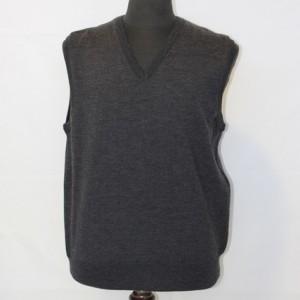 MU0811 mens Classic Vest Charcoal