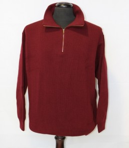 MG Australian Merino Fisher Knit 1/2 Zip Jumper